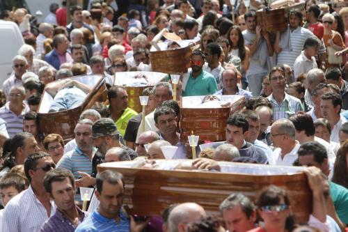 processione santa marta, spagna